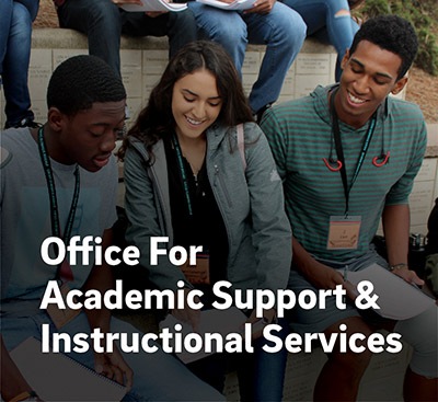 Office of Academic Support & Instructional Services (OASIS)