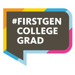 Triton Faculty Firsts logo - hashtag #firstgen college grad