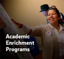 Link to the Academic Enrichment Programs website