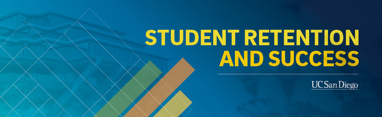 Student Retention and Success - logo text / UC San Diego